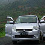 Jakarta Dieng naik mobil