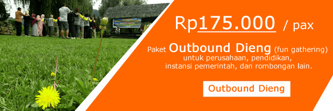 paket outbound dieng