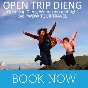 open trip dieng wonosobo